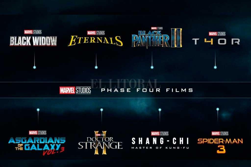 Marvel presentó la cargada agenda de series y películas para los próximos años