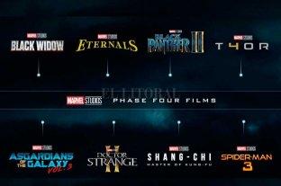 Marvel presentó la cargada agenda de series y películas para los próximos años -  -