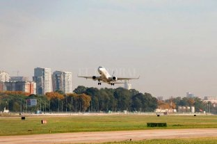 Aeroparque volverá a tener vuelos desde y hacia países limítrofes