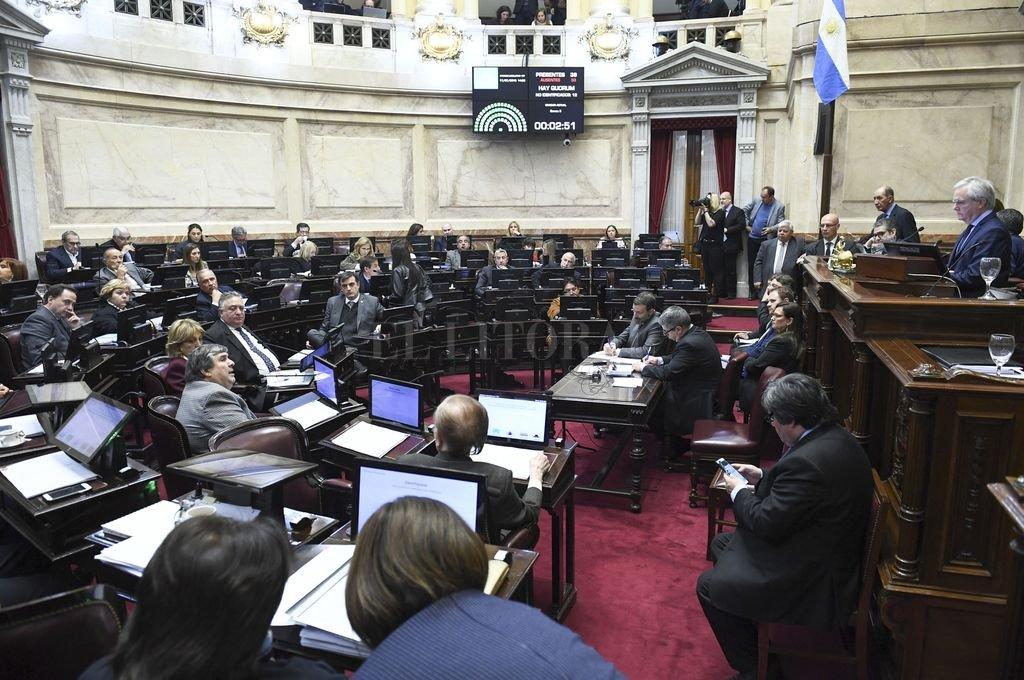 Con la reunión del Senado del pasado miércoles se completaron apenas 10 sesiones entre las dos cámaras, en lo que va del año. <strong>Foto:</strong> NA