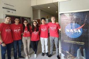 Jóvenes rosarinos presentan un proyecto propio en la NASA