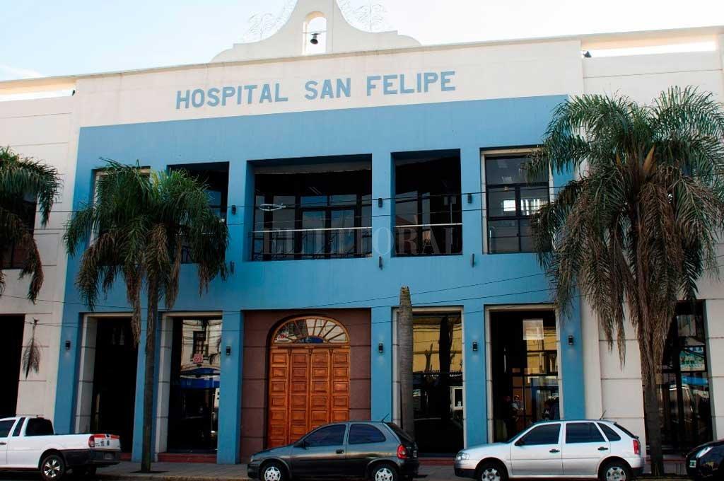 El boxeador oriundo de Ceres permanece internado en el hospital San Felipe de San Nicolás. Crédito: Gentileza