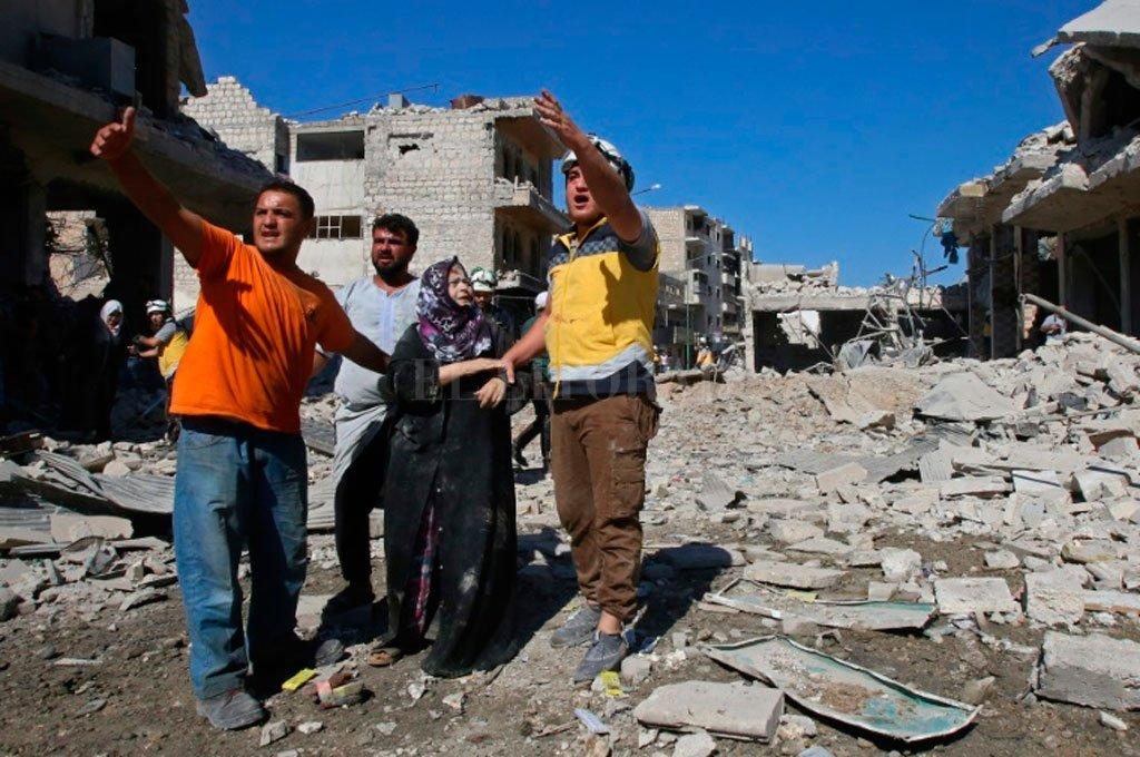 19 muertos tras un bombardeo ruso en un mercado en Siria