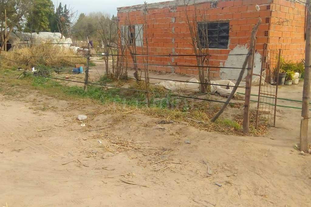 El lugar donde se produjo la trifulca que dejó como saldo la muerte de un adolescente.  Crédito: Gentileza Dpto Relaciones Policiales Santa Fe