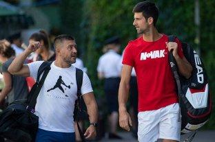 Ulises Badio, el santafesino que prepara físicamente a Novak Djokovic -  -