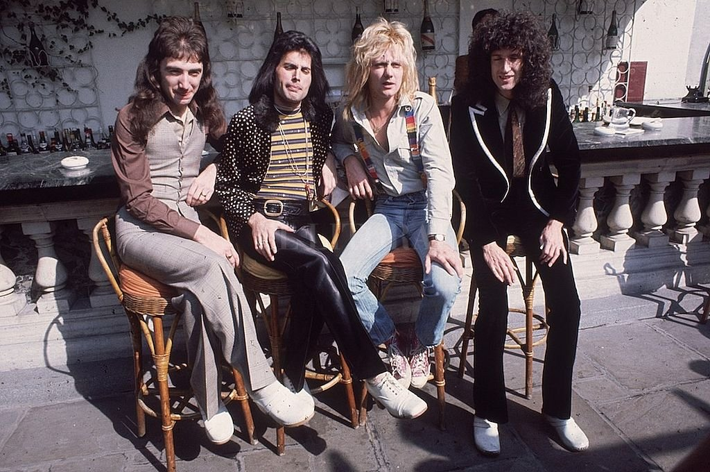 Queen, en la década de 1970. <strong>Foto:</strong> Captura digital