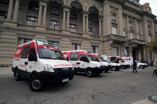 Llegaron 12 ambulancias para el centro-norte de Santa Fe -  -