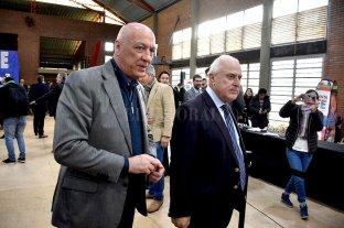 El Partido Socialista ratificó su apoyo a la fórmula Lavagna-Urtubey - Antonio Bonfatti y Miguel Lifschitz. -