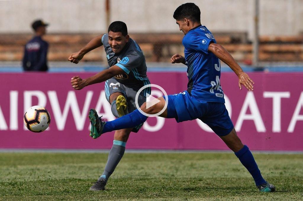 Copa Sudamericana: en la llave de Colón, Zulia sacó ventaja ante Sporting Cristal