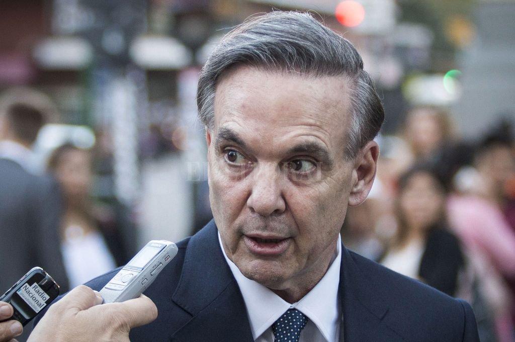 Senador nacional por Río Negro, Miguel Pichetto, precandidato a vicepresidente de Mauricio Macri.   <strong>Foto:</strong> Archivo El Litoral