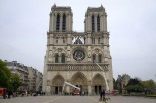 Notre Dame abrió sus puertas a la prensa para dar cuenta de su restauración tras el incendio