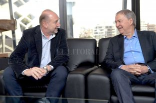 Omar Perotti se reunió en Córdoba con el gobernador Schiaretti