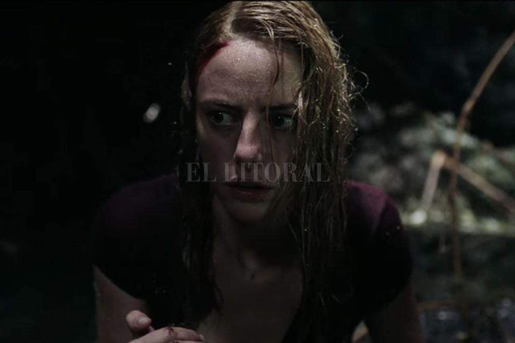 Haley (Scodelario) enfrentará junto a su padre un huracán categoría 5 y una invasión de cocodrilos. <strong>Foto:</strong> Gentileza Paramount Pictures