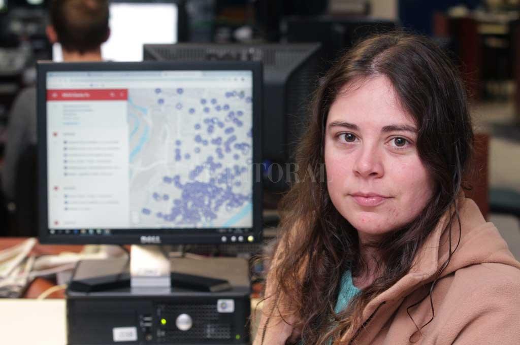 Yamila Riego, coordinadora de MIAA Santa Fe, planteó su preocupación por la falta de denuncia. <strong>Foto:</strong> Pablo Aguirre
