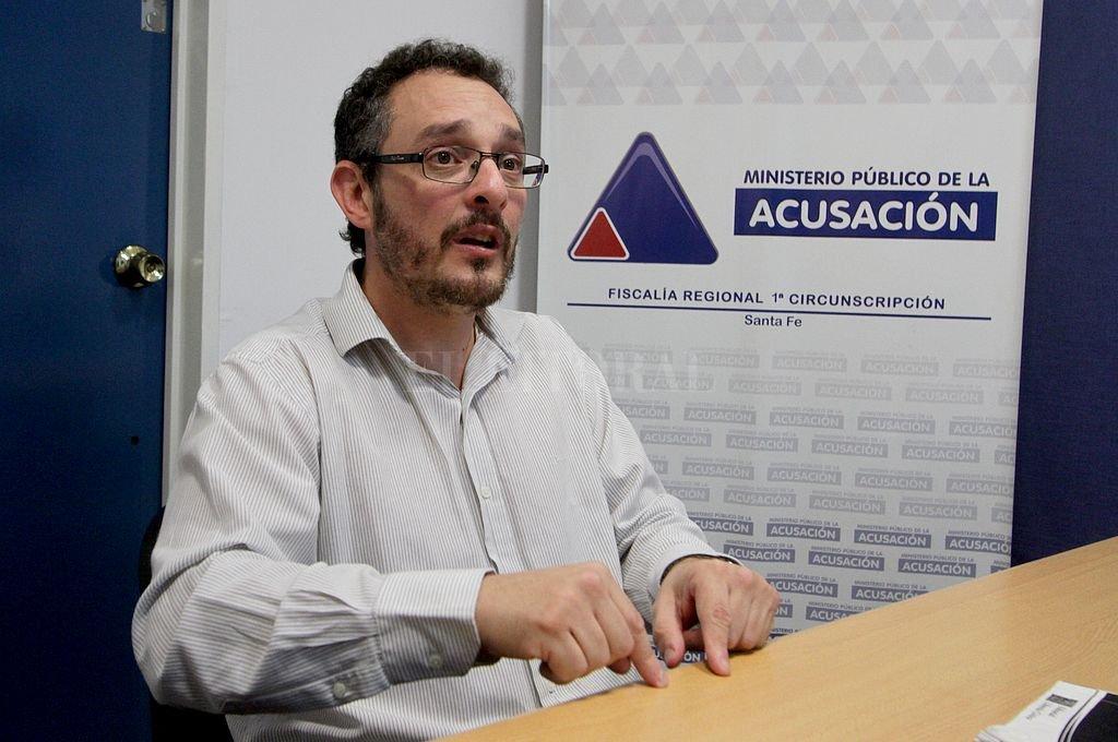 Fiscal Omar De Pedro. Crédito: Archivo El Litoral