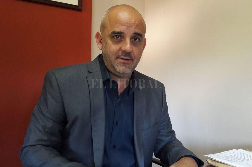 Diputado radical Fabián Palo Oliver, disgustado con la fórmula que apoya el gobernador Miguel Lifschitz.  <strong>Foto:</strong> Archivo El Litoral