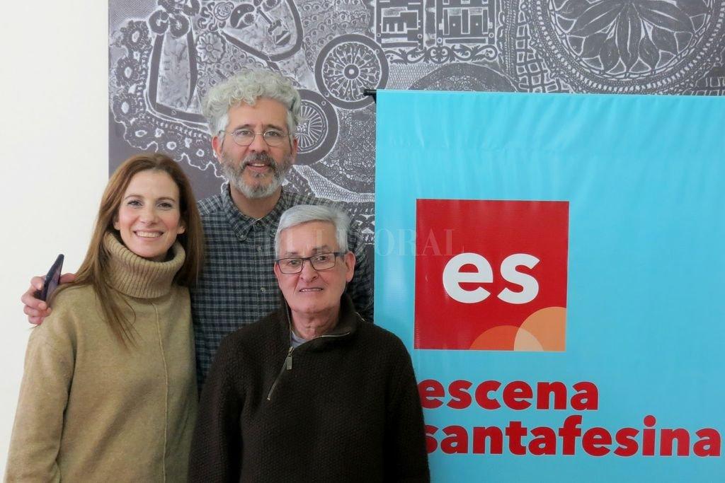 Uno de los tres jurados convocados por Escena Santafesina 2019: María Marull, Ricardo Arias y Carlos Pacheco. <strong>Foto:</strong> Gentileza MIC