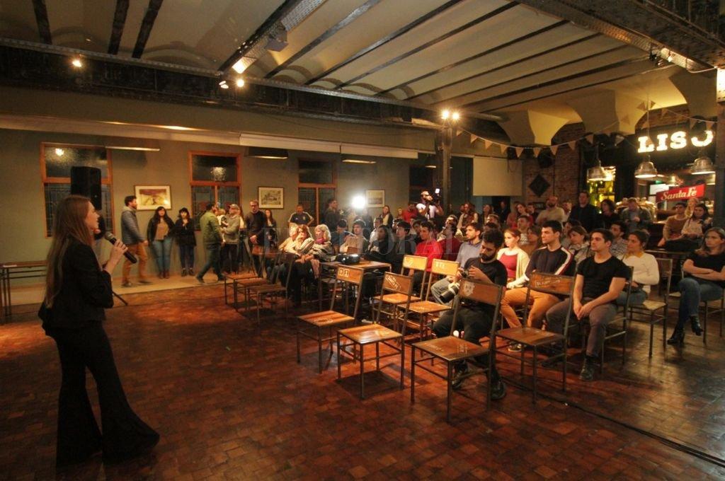 """Estiman que una decena de empresas emprendedoras llegarán a la final, que se hará en Santiago de Chile, donde se elegirá al ganador"""", dijo Barrale. El premio económico es de U$D 10.000 para el proyecto ganador. <strong>Foto:</strong> Pablo Aguirre"""