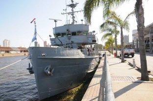 """La Armada ratificó que el """"Sobral"""" se donará a la ciudad como buque museo"""