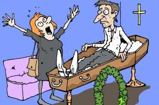 Humor. Resurrección en casa de sepelios