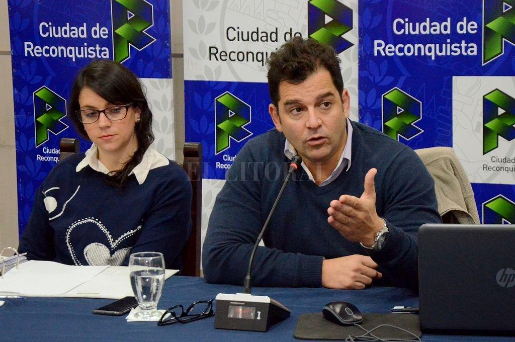 """EL SECRETARIO DE DESARROLLO ECONÓMICO, Ignacio Correa sostuvo que, en principio, es una """"medida más que no tiene más implicancia que otras que hemos tomado"""". <strong>Foto:</strong> Agencia Reconquista"""