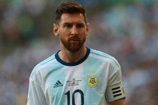 Tres meses de suspensión para Messi por sus declaraciones en la Copa América