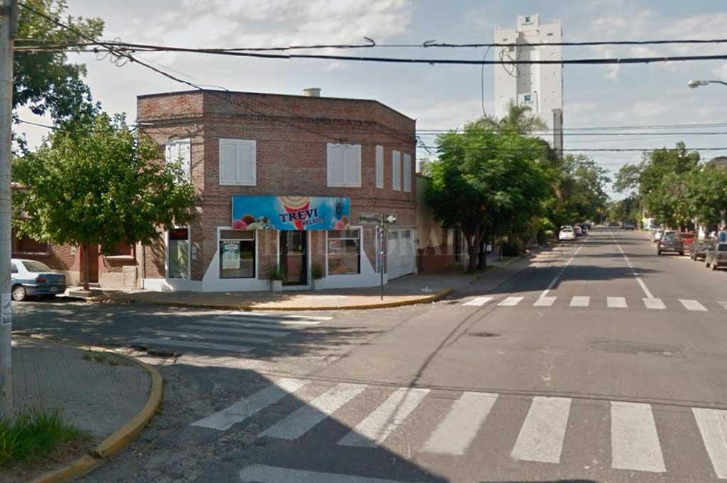 La zona donde se produjo uno de los hechos <strong>Foto:</strong> Captura de Pantalla - Google Street View