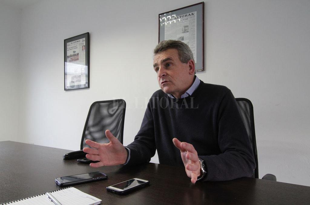 Rossi dijo que el armado del equipo de colaboradores que tendrá Perotti en Santa Fe es una tarea del próximo gobernador. <strong>Foto:</strong> Pablo Aguirre