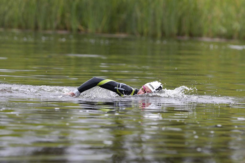 Cecilia Biagioli. La cordobesa abrió la jornada de medallas argentinas. <strong>Foto:</strong> Panam Sports