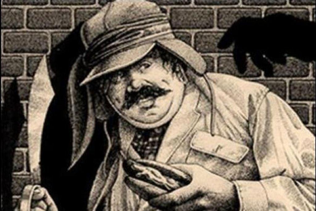 """Ignatius Reilly, el personaje de la novela """"La conjura de los necios"""", según la ilustración de una de las portadas del libro. <strong>Foto:</strong> Gentileza organizadores"""