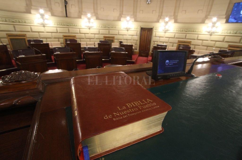 Cámara de Senadores de la Provincia. <strong>Foto:</strong> Mauricio Garín