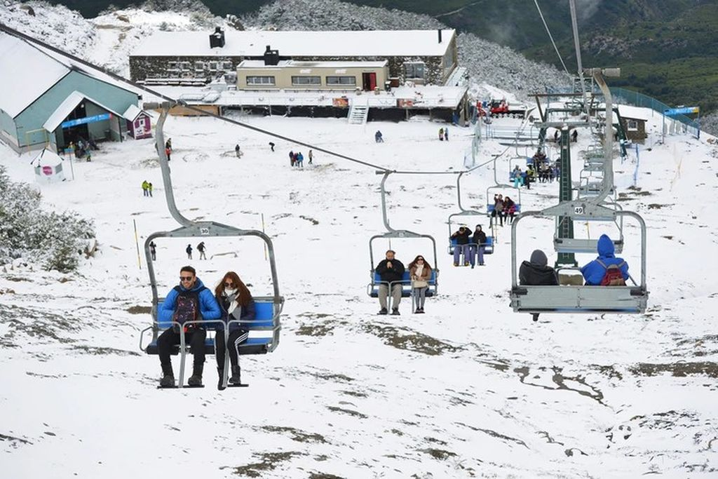 Bariloche, uno de los lugares más turísticos de invierno. Crédito: Imagen ilustrativa.