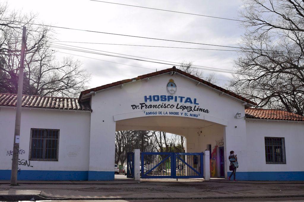 El Hospital donde se realizó el aborto. <strong>Foto:</strong> Gentileza La Super Digital