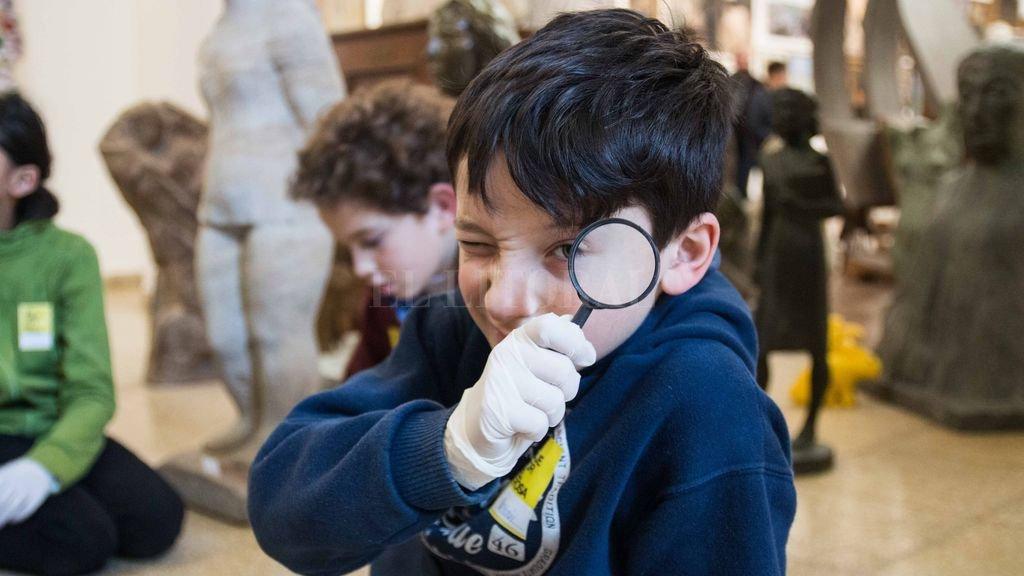 Está destinada a niños y niñas de entre 6 a 12 años, para vincularse a través del juego con el patrimonio del museo. Crédito: Gentileza MIC