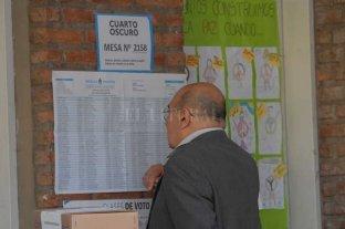 ¿Dónde voto? Consultá el padrón electoral para las elecciones generales