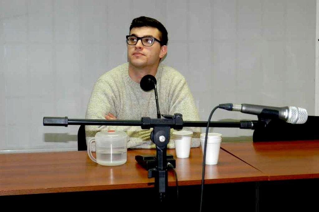 Maximiliano Larrabaster. <strong>Foto:</strong> Ministerio Público Fiscal de Chubut