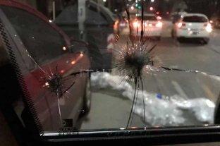 Atacaron el vehículo en el que se trasladaba José Luis Espert
