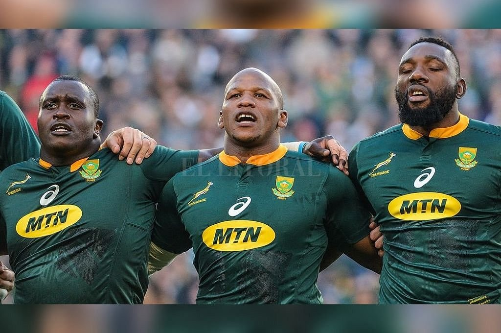 Trevor Nyakane, Bongi Mbonambi y Tendai Mtawarira serán titulares el sábado. <strong>Foto:</strong> Springboks.rugby