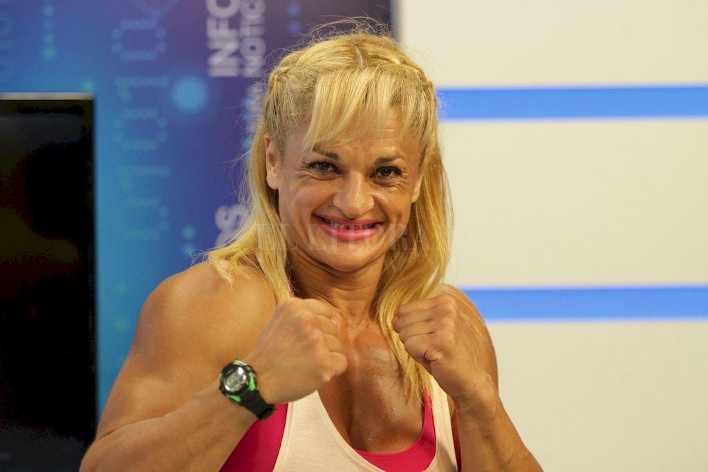 """La multicampeona boxeadora y récord Guinnes, va por más con esta iniciativa social. """"Esto trata de salvar vidas"""", asegura. Crédito: Archivo El Litoral / Manuel Fabattia"""