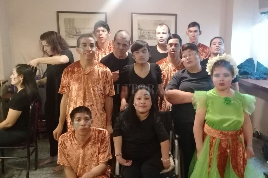 Los integrantes del grupo se presentaron por primera vez en una gran sala como la que ofrece el Centro Cultural Provincial.  Crédito: Gentileza CCP