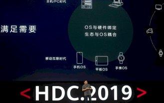 Huawei presentó HarmonyOS, el sistema operativo alternativo a Android