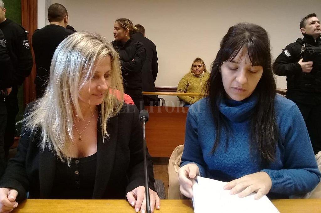 Las fiscales Milagros Parodi y Alejandra Del Río Ayala. Crédito: Prensa MPA