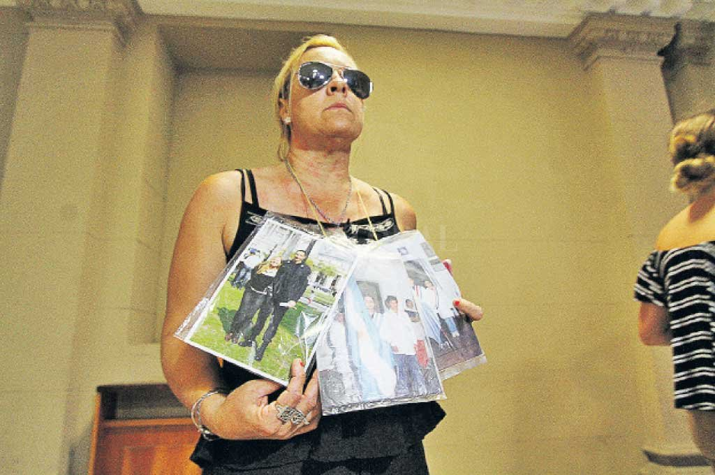"""Silvina Pressacco, madre de Foresto, es querellante. """"La familia no busca venganza, busca justicia"""", declaró su abogado. <strong>Foto:</strong> Archivo El Litoral / Mauricio Garín"""