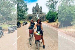Las dos argentinas varadas en Camboya lograron salir del país y van rumbo a Tailandia