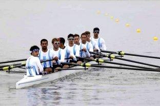 Con un remate formidable el equipo masculino de ocho remos con timonel aportó el 23° oro