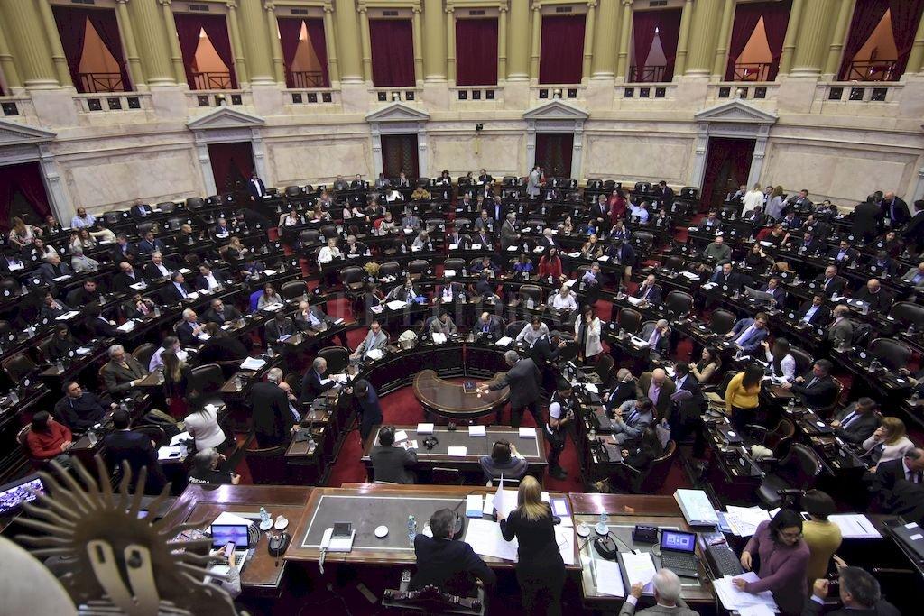 Sesión de la Cámara de Diputados de la Nación <strong>Foto:</strong> Archivo El Litoral