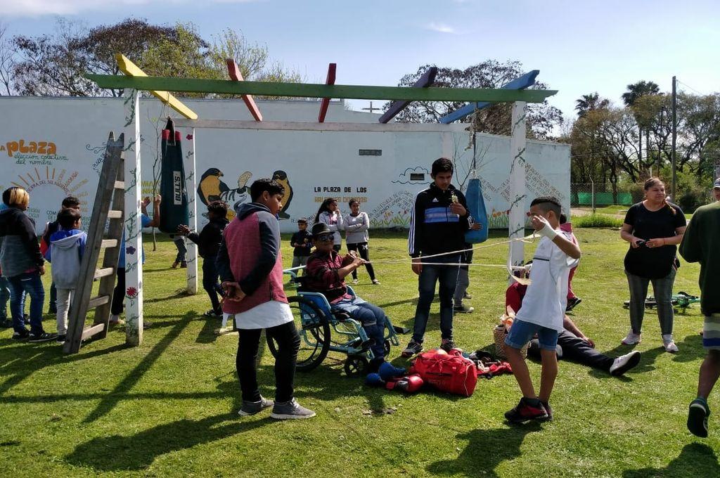 Gran Santa Fe. Las iniciativas se concretaron en las localidades de Recreo, San José del Rincón, Arroyo Leyes, Laguna Paiva y Monte Vera. Crédito: Gobierno Provincial