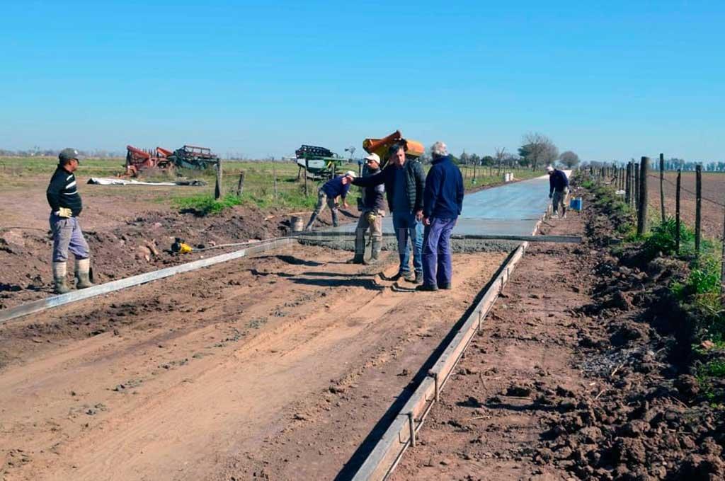 ESTA SEMANA CULMINARON los trabajos en esa zona de la localidad, que formaban parte del plan de pavimentación urbana periodo 2017-2019. <strong>Foto:</strong> Comuna de Pilar