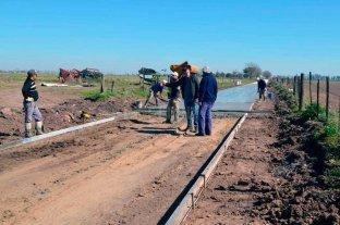 Pilar: invierten más de 5 millones de pesos en obras de pavimentación