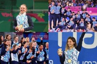 Argentina tuvo la mejor cosecha de medallas en Juegos Panamericanos fuera del país